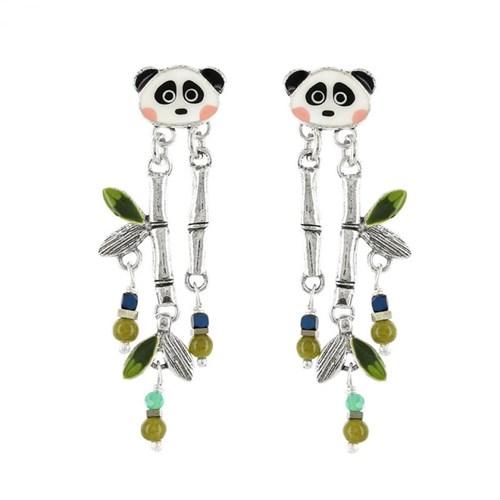 Серьги в виде панды из коллекции Taraboum Taratata