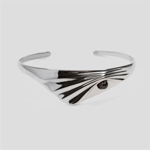 Малый браслет с черным жемчугом «Gravity» Fjord