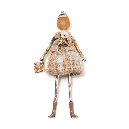 Брошь-кукла «Мэнди» Moon Paris