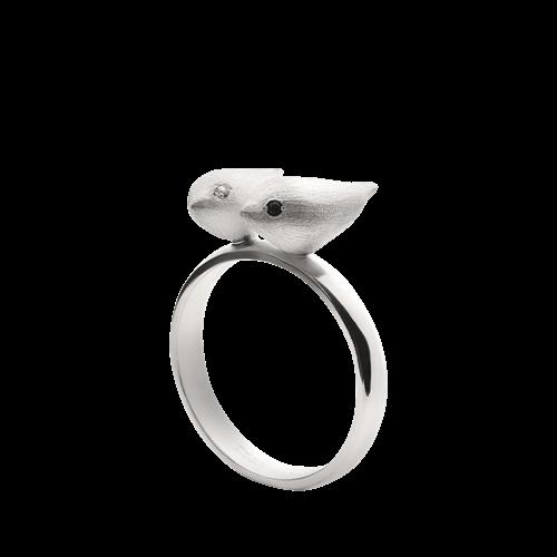 Кольцо «Два соловья» ALCHEMIA