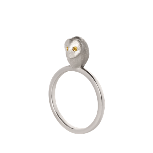 Кольцо «Сова» ALCHEMIA