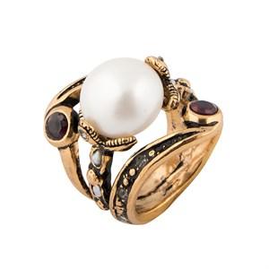 Кольцо с жемчужиной Alcozer & J