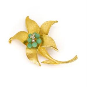 Винтажная брошь «Тропическая лилия» Park Lane