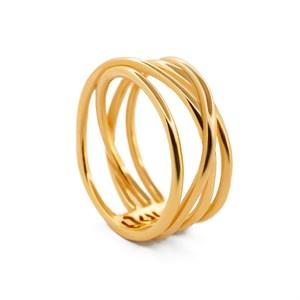 Позолоченное кольцо «Minima» Fjord
