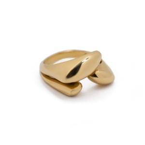 Позолоченное тройное кольцо «Basic» Fjord