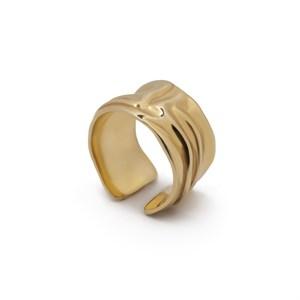 Позолоченное кольцо «Tissue» Fjord