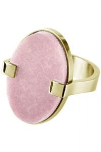 Кольцо «Malai» с розовым кварцемDYRBERG/KERN