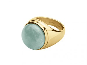 Кольцо «Castor» с зеленым амазонитом DYRBERG/KERN