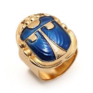 Кольцо со скарабеем Philippe Ferrandis из коллекции «WOODSTOCK»