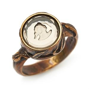 Кольцо с инталией Extasia