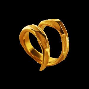 Кольцо «Стружка» ALCHEMIA