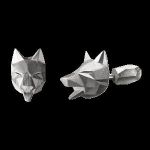 Пусеты «Волк» ALCHEMIA