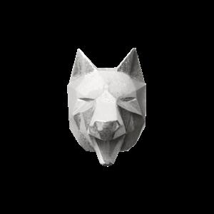 Брошь «Волк» ALCHEMIA