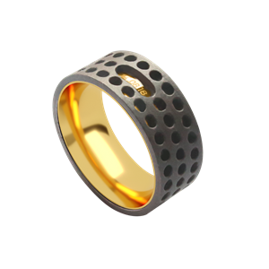 Кольцо «Индастриал 4» ALCHEMIA