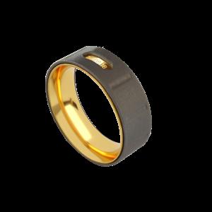 Кольцо «Индастриал 7» ALCHEMIA