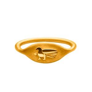 Кольцо-печатка «Голубка» Онега